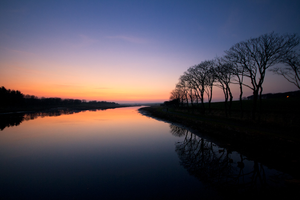 Wick River at Sunset