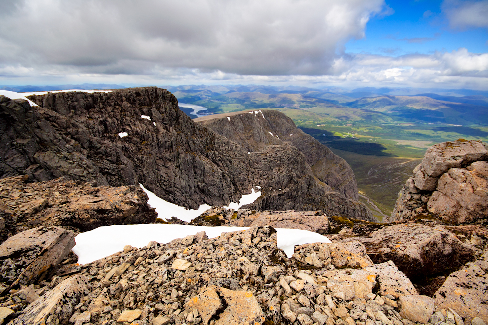 North face of Ben Nevis