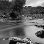 Dunbeath River long exposure