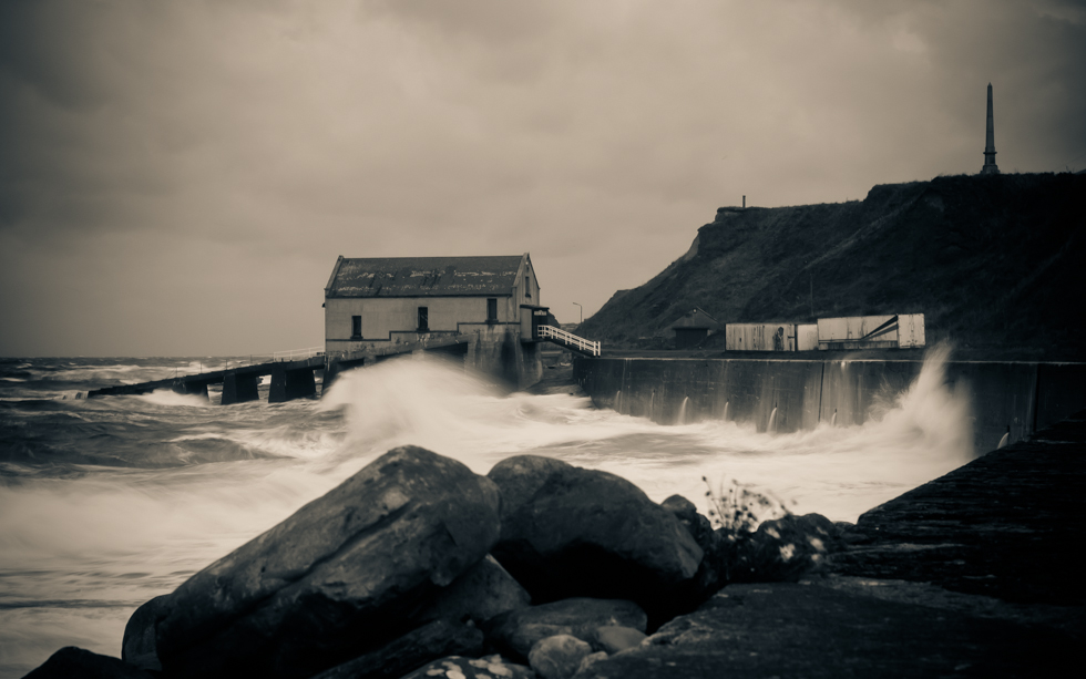 Stormy weather at Wick's South Head